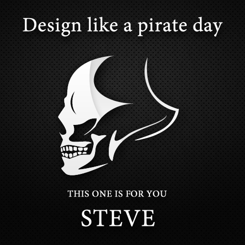 #DLPD Design Like Pirate Day