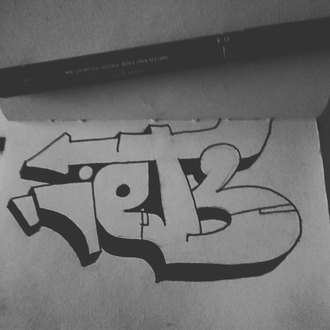 IETS Graffiti Sketch Inktober 2016