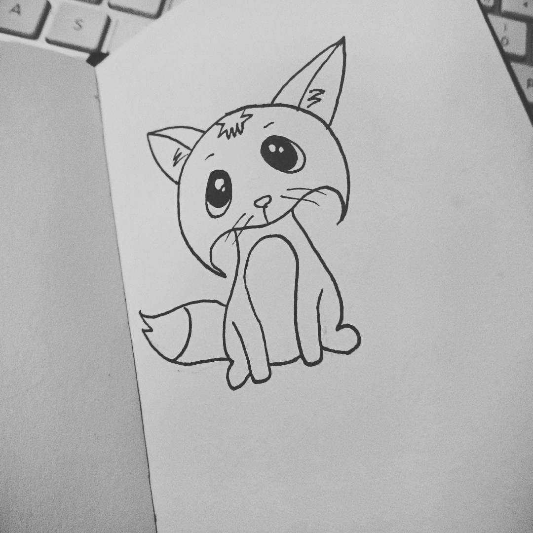 Tiny Fox Inktober 2016