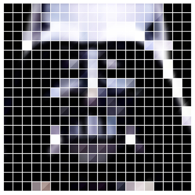 WKMF Pixel Art pixelated dark side 8 bit Darth Vader Star Wars